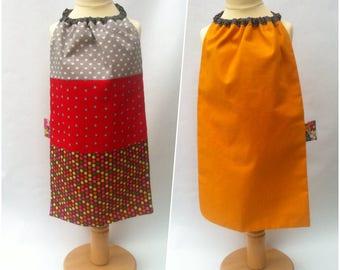 Accessories lunch/school children - napkin with extra long elastouk - model Sacha