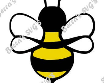 Bumblebee 3 color/layer SVG
