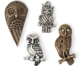 Owl Charms (STEAM288)
