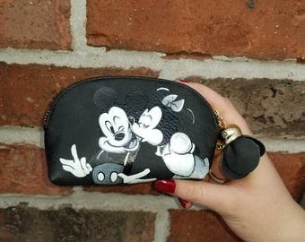 Custom painted coin purse
