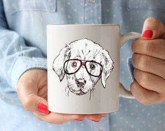 Labrador Gift For Kids Coffee Lovers Gift Mug Coffee Mug Office Coffee Cup Kitchen Hipster Animal Hipster Mug Coffee Lover Gift Tea Cup