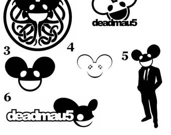 Deadmau5 Vinyl Decal