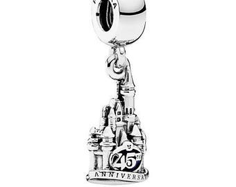 Authentic Pandora Cinderella Castle 45th Anniversary Charm
