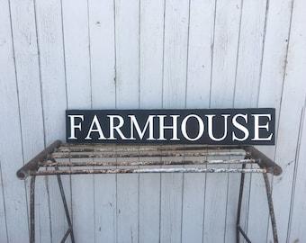 Farm House Sign * Rustic Home Decor * Farmhouse Sign * Country Home Decor *