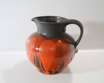 Nicely shaped  Steuler vase- WGP, West German Pottery -519/20