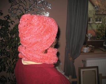 SNOOD Hat matched set