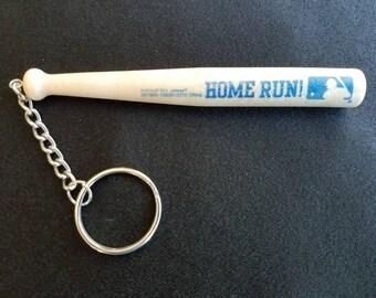 Home Run! Baseball Bat Key Ring