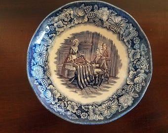 Staffordshire Liberty Blue 5 Inch Fruit Bowl
