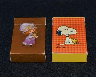 Hallmark Miniature Playing Cards, Peanuts Playing Cards, Charmers Playing Cards, Mini Deck of Cards, Hallmark Collectibles, Snoopy Card Deck