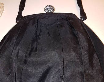 1930s/40s  Black Evening bag