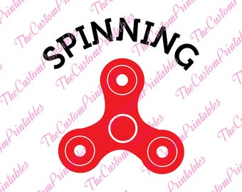 Spinning, Fidget, Spinner, Toy ,SVG, Cricut Files, Silhouette Files, Cameo, Vector, T-shirt, Iron On