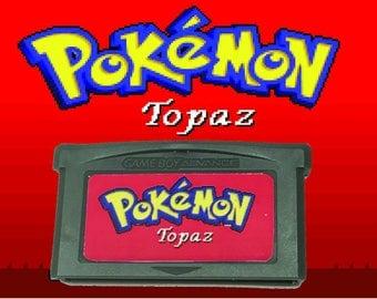 Pokemon Topaz fan made hack GBA