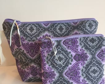 Project bags for knitters and crocheters