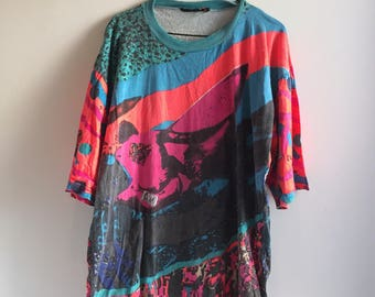 90s Hot Sand Tribal T-Shirt