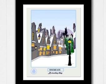 Harry Potter Hogsmeade Village Poster - Buy 2 Get 1 FREE
