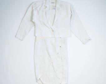 GIANNI VERSACE - Linen suit