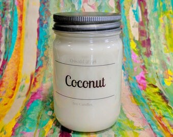 Coconut | Hand Poured Soy Candle