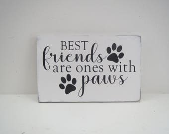 Pet Sign/Animal Sign/Dog Sign/Cat Sign/Painted Wood Sign