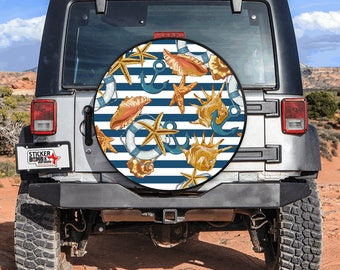 Tire Cover Navy