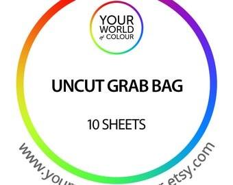 Uncut Sticker Grab Bag Planner Stickers great for any planner! inc Kikki K, Erin Condren, Happy Planner, Kate Spade, Filofax.