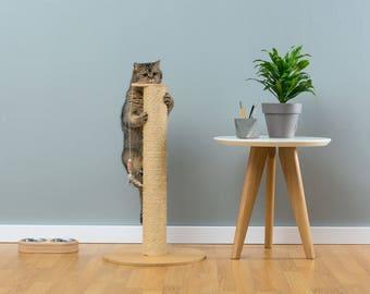 sisal cat scratcher hamilton natural worldwide shipping modern cat furniture climb tree