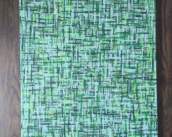 Original Abstract Canvas Painting (24x36)