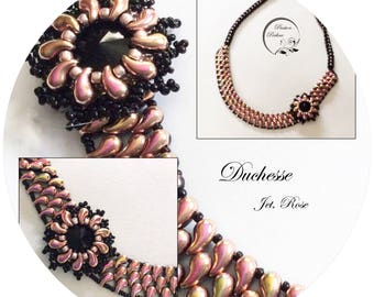 KIT diy necklace DUCHESSE with medaillon or ring