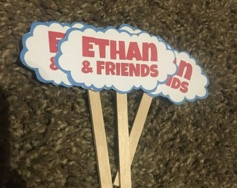 Thomas and Friends Cupcake toppers