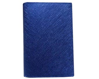 Blue Color PU Leather /Passport Holder / Passport Cover / Passport Case / Travekl Wallet Easy To DIY