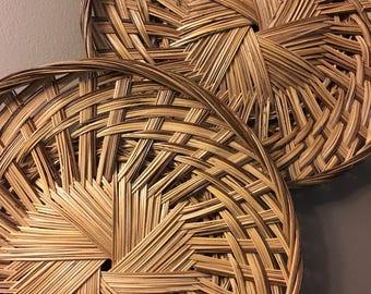 Woven Basket Wall Decor large woven basket | etsy