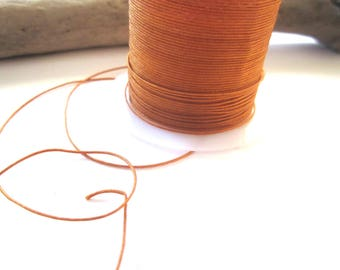 1 meter of camel 0,5mm nylon thread