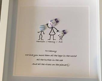 Grandparents frame gift keepsake grandchildren