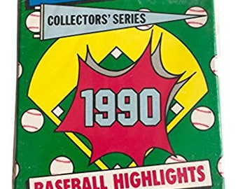 1990 Topps Baseball Highlights Woolworth Exclusive 33 Card Sealed Factory Set