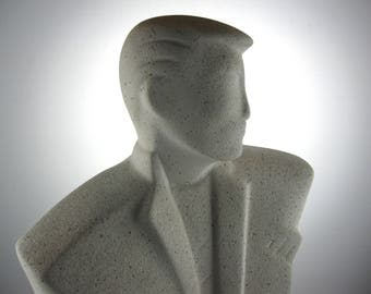 Wall sculpture / bust, design from the 80's