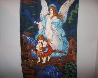 "23"" x 43"" Guardian Angel Fabric Panel #215"
