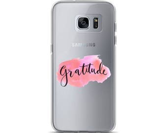 Gratitude Samsung Case