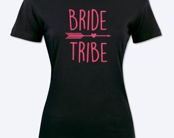 Bride Tribe, hen party T-shirt