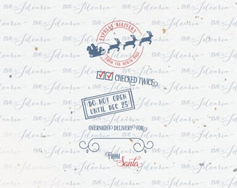 Santa Sack Svg Santa Stop Here christmas svg christmas svg christmas svg file Santa svg vinyl design silhouette cricut svg svg files dxf