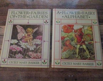 The Flower Fairies of The Winter Book - Cicely Mary Barker Flower Fairy Book  (1990)