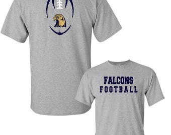 Custom Apparel- Team Spirit Football T- Shirt DES204