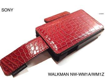 Sony Walkman NW-WM1A/ WM1Z Leather case