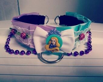 Rapunzel inspired collar
