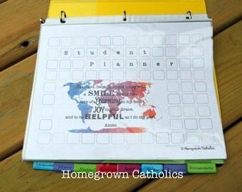 Homeschool Student Planner PDF
