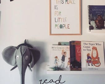 Read ~ Play Room Decor ~ Read Nursery Decor ~ Read Wall Stickers ~ Nursery Wall Stickers ~ Wall Decal Stickers ~ Read Room Decaor