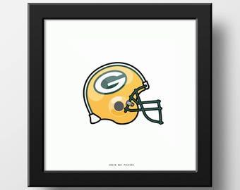 Green Bay Packers Vintage Helmet