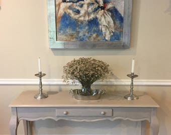 SOLD. Country French Console Table