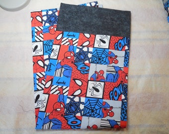 SALE!!!!!! Spider-man-Spider-man Pillowcase-Pillowcase Made from DC Comics Spider-man-Superhero-DC Comics