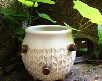 Snowflake bomb mug / Pristine unmelting ice mug