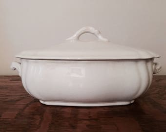 Johnson Brothers Ironstone Covered Serving Dish