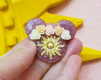 Custom Brooch Rapunzel Inspired Pin